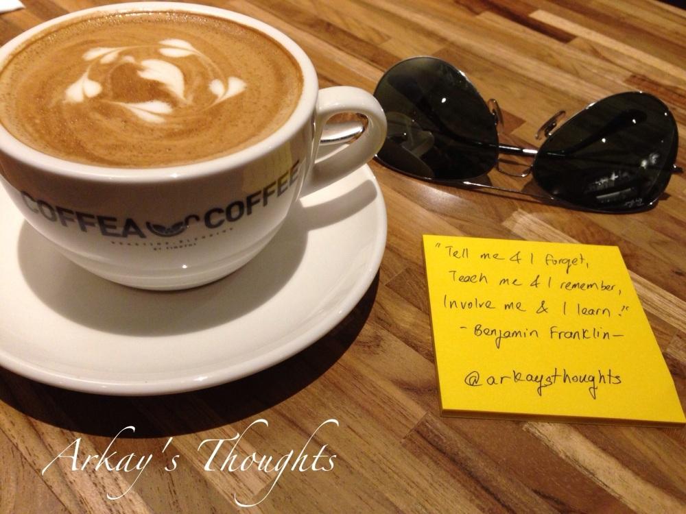 Dream Big But Start Small @ CoffeaCoffeeMY, Bangsar