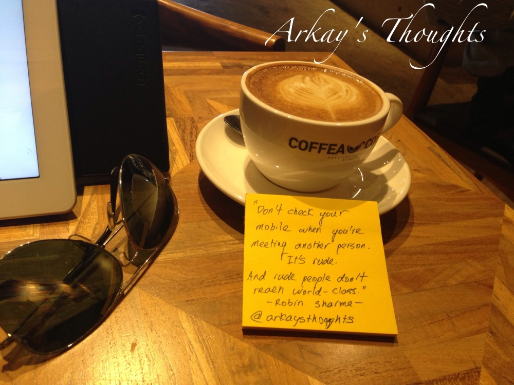 The Productivity Serial Killer, Distraction @coffeacoffeemy (1/2)