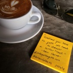 """""""Sometimes you have to get off track to discover a better track.""""  #RobinSharma #ArtisanCoffeeHQ"""