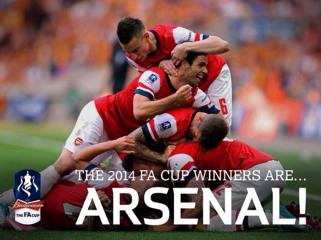 It Was A Long Time Since Arsenal Won Silverware Something In The Region Of 3283 Days