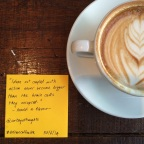 QOTD 30/6/14 – Ideas & Actions- #ArtisanCoffeeHQ